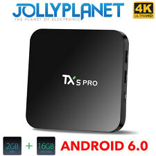 TX5 Pro Android 6.0 16GB 2GB S905x QuadCore S905X 2GHz KODI TV BOX 4K IPTV