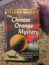 The Chinese Orange Mystery By Elbert Queen 1941 Triangle Edition
