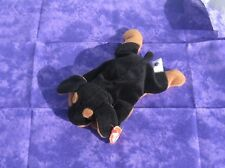 Ty Plush Original Beanie Baby Retired Doby Doberman Dog 1996 with All Tags