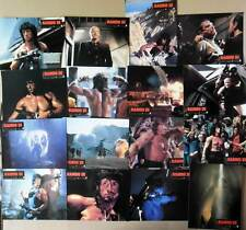 RAMBO III - Stallone,Crenna - 16 PHOTOS ORIGINALES / 16 FRENCH LOBBY CARDS