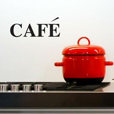 CAFE KITCHEN WALL ART STICKER DECAL CAFE RESTAURANT FOOD WORDS c25