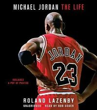 Michael Jordan : The Life by Roland Lazenby (2014, CD, Unabridged) Played Once