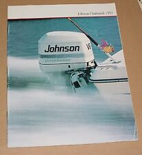 1993 Johnson Outboards Sales Brochure