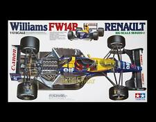 Tamiya 1/12 WILLIAMS FW14B RENAULT F1 MANSELL PATRESE Race Car Kit 12029 MIB