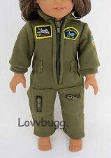 "Pilot Flight Jumpsuit Costume Clothes for 18"" American Girl Doll  Found It!"