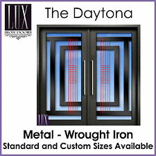 LUX Wrought Iron Doors - The Daytona - All Metal - FREE DELIVERY AUSTRALIA CBD