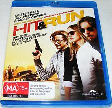 HIT & RUN-- (Blu-Ray)
