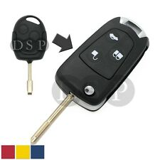 Flip Key Shell + Key Blank refit for FORD Focus Ka Mondeo Remote Key Fob 3Button