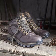 Timberland Mens Mt Maddsen Brown Leather Waterproof Hiking Boots size 10