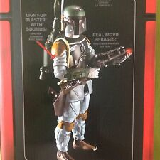 "SALE Star Wars 12"" Boba Fett Talking Figure Movie Phrases & Sounds Great Toy"