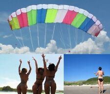 SKYWALKER STUNT PARACHUTE PARAFOIL SPORT KITE PARK BEACH GARDEN OUTDOOR FUN