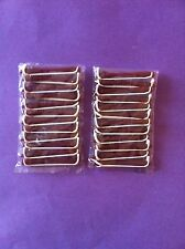 HAIRDRESSING 24 x VERY SMALL 8mm PERM CURLERS/ ROLLERS RODS