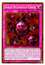 VIRUS DISTRUGGI-CARTE Crush Card PGL2-IT070 Gold in Italiano YUGIOH