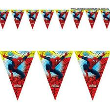 Spiderman Party Bunting Flags Banner/Spiderman Party Decorations Boys Party