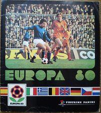 RARE EUROPA 80 (1980) EURO PANINI STICKER ALBUM ** 100% COMPLETO **