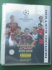 Champions League 13 14 Panini  Binder Sammelmappe Nordic Edition limited 2014