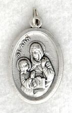 ST ANN Catholic Medal patron grandmothers mothers childless couples poverty NEW