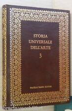 STORIA UNIVERSALE DELL ARTE Vol 3 Arte dell Egeo e della Grecia Arcaica Fabbri