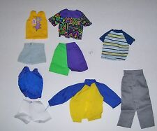 barbie KEN DOLL CLOTHES LOT  #65 PRE-OWNED FAIR TO GOOD CONDITION