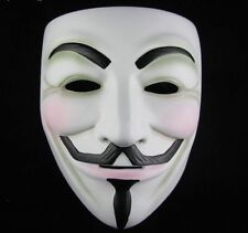 V VENDETTA COSTUME MASK GUY FAWKES ANONYMOUS HALLOWEENN PARTY FANCY DRESS COSPLA