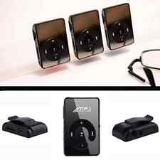 Black Portable Mirror USB Digital MP3 Music Player Support Up to 16GB TF Cards