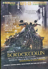 Audio book - Welcome to Bordertown by Holly Black & Ellen Kushner    -    MP3-CD