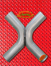 2.5 inch Exhaust X Pipe Universal custom DIY downpipe midpipe crossover pipe 14g