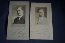 Ca 1911 Two Sigma Alpha Fraternity Photos at Colgate University