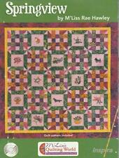 Inspira: Springview By M'Liss Rae Hawley PC CD full designs Embroidery files sew