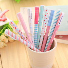 10pcs/lot Colorful 0.38mm Gel Pen Cute Pens Student Office Accessories i i