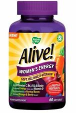 Nature's Way Alive Women's Energy 60 Soft Jell Multi-Vitamin *Vegetarian*