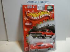 Hot Wheels Holiday Rods Red '67 Dodge Charger w/Real Riders
