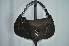 JUICY COUTURE Handbag Leather Chocolate Brown  MSRP $278