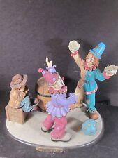 Flambro Emmett Kelly Little Emmett SOME DAY  Hobo Clown Throwing Pies