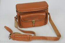 Vintage RETRO 1950's Leather Camera Bag Purse Once Held Leica Great BAG or PURSE