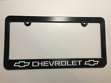 Chevrolet Bowtie Logo Plastic License Plate Frame Decal Vinyl
