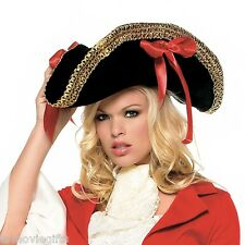 Leg Avenue Unisex - Adult Pirate Hat With Ribbons #2099