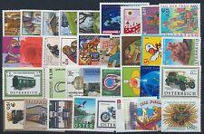 Österreich Jahrgang 2002 postfrisch in den Hauptnummern kompl...................