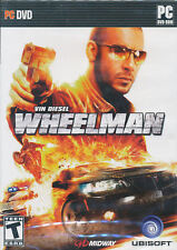 WHEELMAN Vin Diesel Wheel Man Racing PC Game NEW in BOX