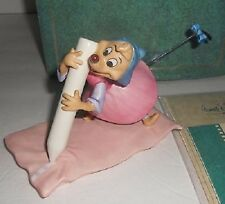 WDCC CINDERALLA NO TIME FOR DILLY DALLY BRAND NIB DISNEY MOUSE RARE SAVE$$ F/SH