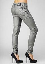 NWT Rock & Republic Boothe Lowrise Skinny Jeans in Gravity Silver 25