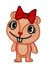 Happy Tree Friends G4 Cartoon Giggles Chipmunk Embroidered IronOn Applique Patch