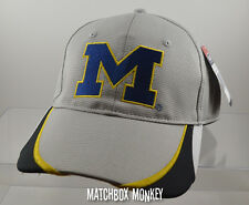 U of M University of Michigan Wolverines Baseball Hat Ball Cap Mesh Golf NWT