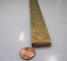 """954 Bronze Oversize Flat Bar  1/4"""" Thick x 1.0"""" Wide x 36.0""""  Length"""