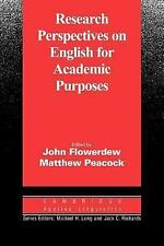 Cambridge Applied Linguistics: Research Perspectives on English for Academic...