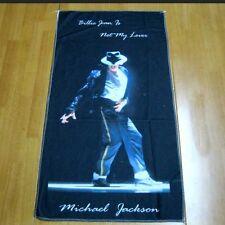 Michael Jackson asciugamano copertura del cuscino 75cm x 40cm per MJ Fans 0579
