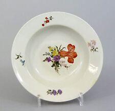 #A61 Royal Copenhagen tiefer Teller,Suppenteller Blumendekor, um 1800