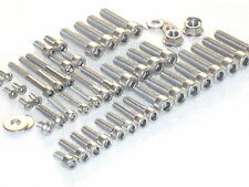Suzuki RG125 Gamma Engine & Cylinder 47pc Stainless Allen Bolt Nut Kit 1989-96