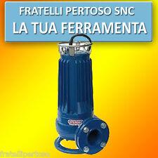 POMPA SOMMERSA PROFESSIONALE DRENAGGIO E PER FOGNA TRIFASE SQ 25-2,2 HP 3