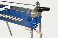 Cyprus Charcoal Motorised Barbeque Grill Foukou with Lifting Mechanism
